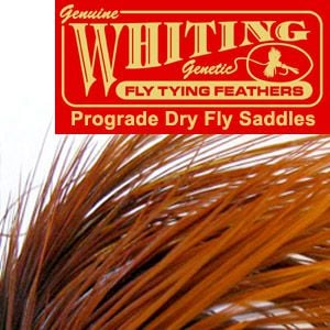 Whiting Farms Dry Fly Saddle - prograde