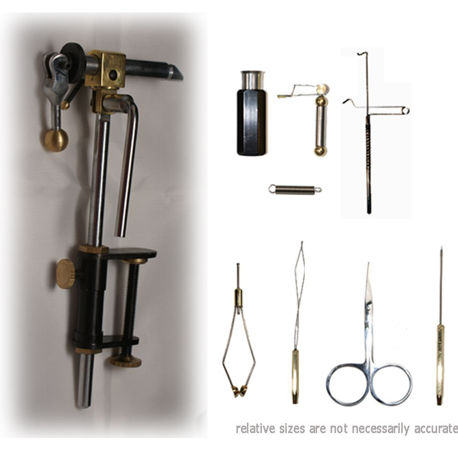 Just Simply Tools Economy Fly Tying Vise & Tool Kit