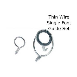 Batson Ent. Thin Wire SINGLE Foot Chrome Guide Set