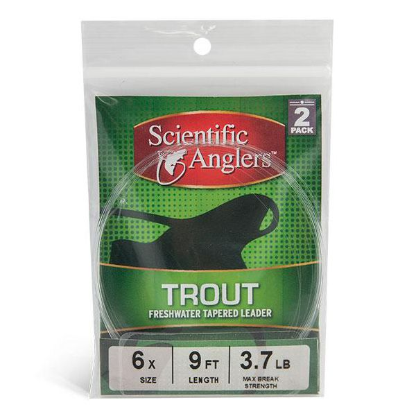 Scientific Anglers Freshwater Trout Leaders 2-Pack