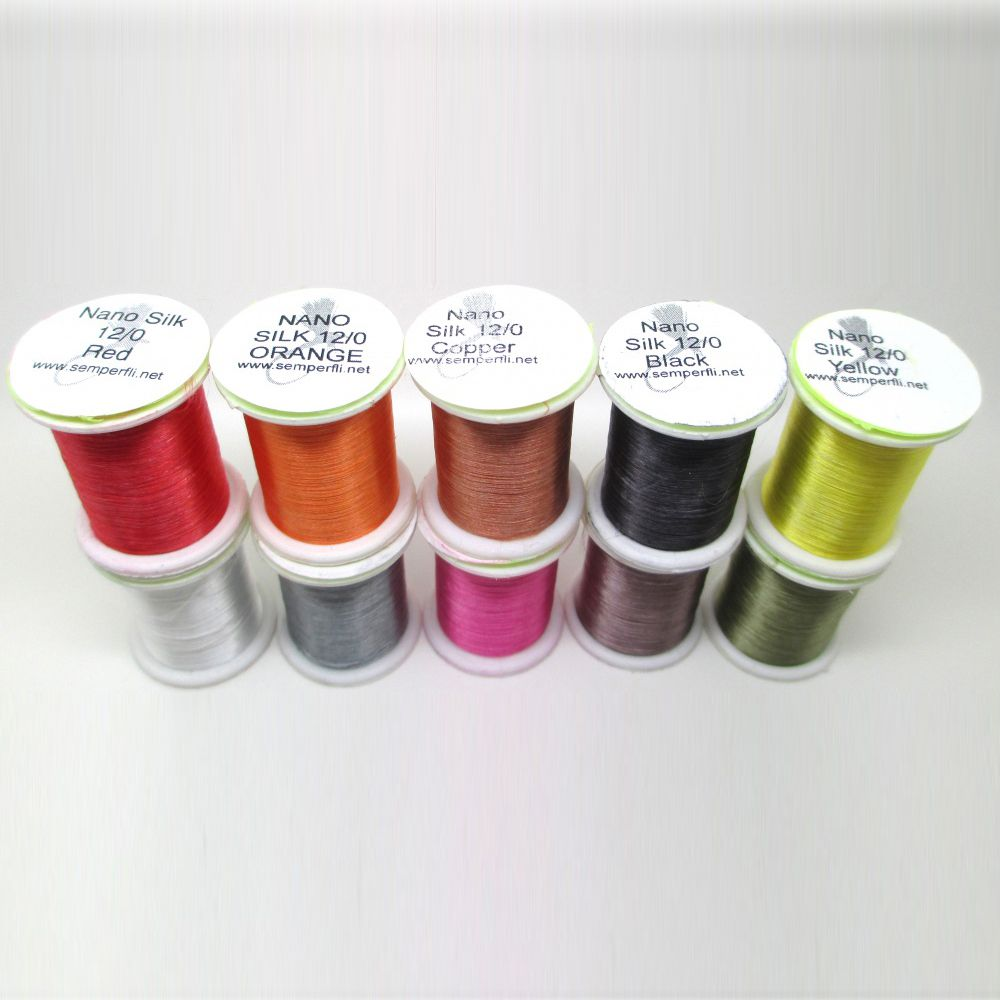 SemperFli Nano Silk Thread 12/0