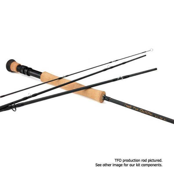Temple Fork Outfitters Professional Fly Rod Kit - 4 pc - 9'