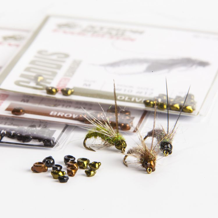 Nymph-Head Evolution Tungsten Beadheads - caddisfly